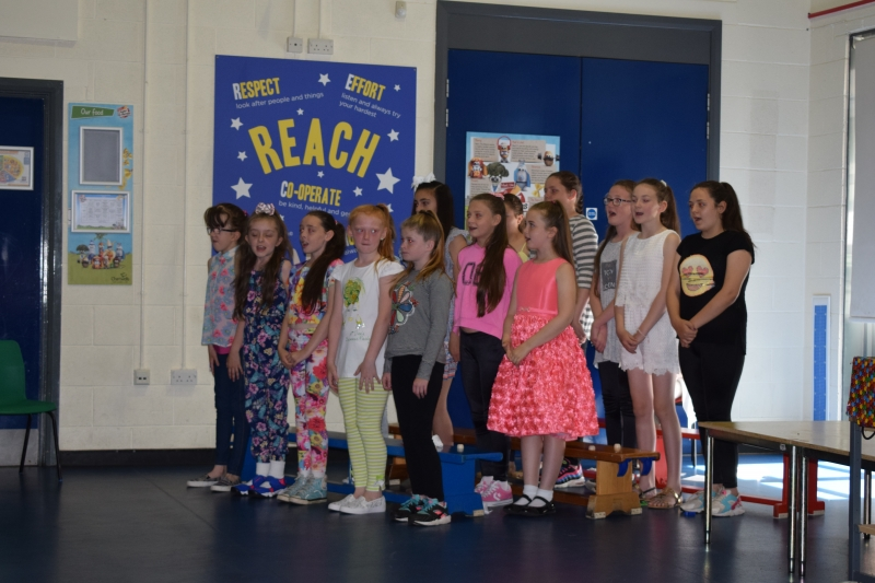 Y6 Leavers Assembly Wellesbourne Primary School